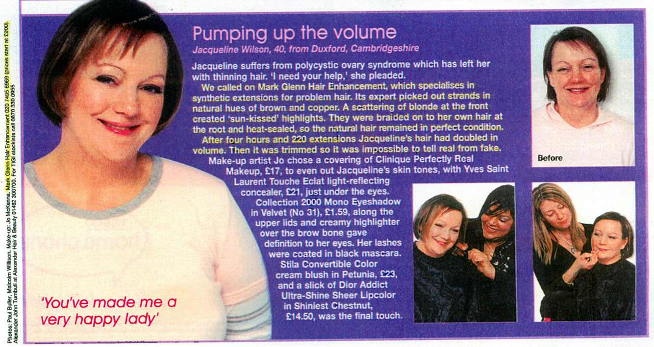Polycystic ovary syndrome - pumping up the volume for thinning hair - Bella Magazine