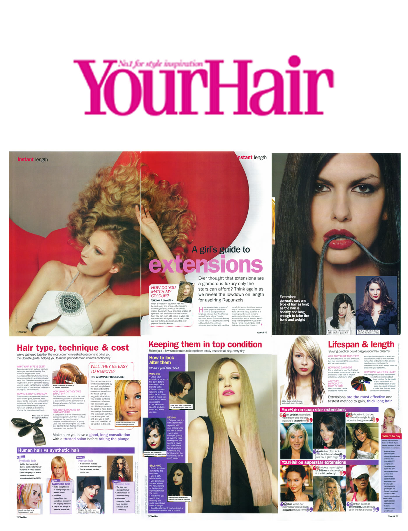 Your Hair recommends Mark Glenn in 'A Girl's Guide to Extensions'