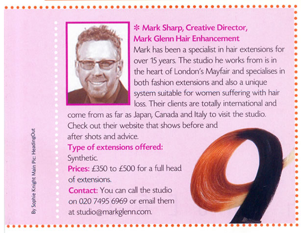 Hair Flair - Mark Sharp of Mark Glenn Hair Enhancement