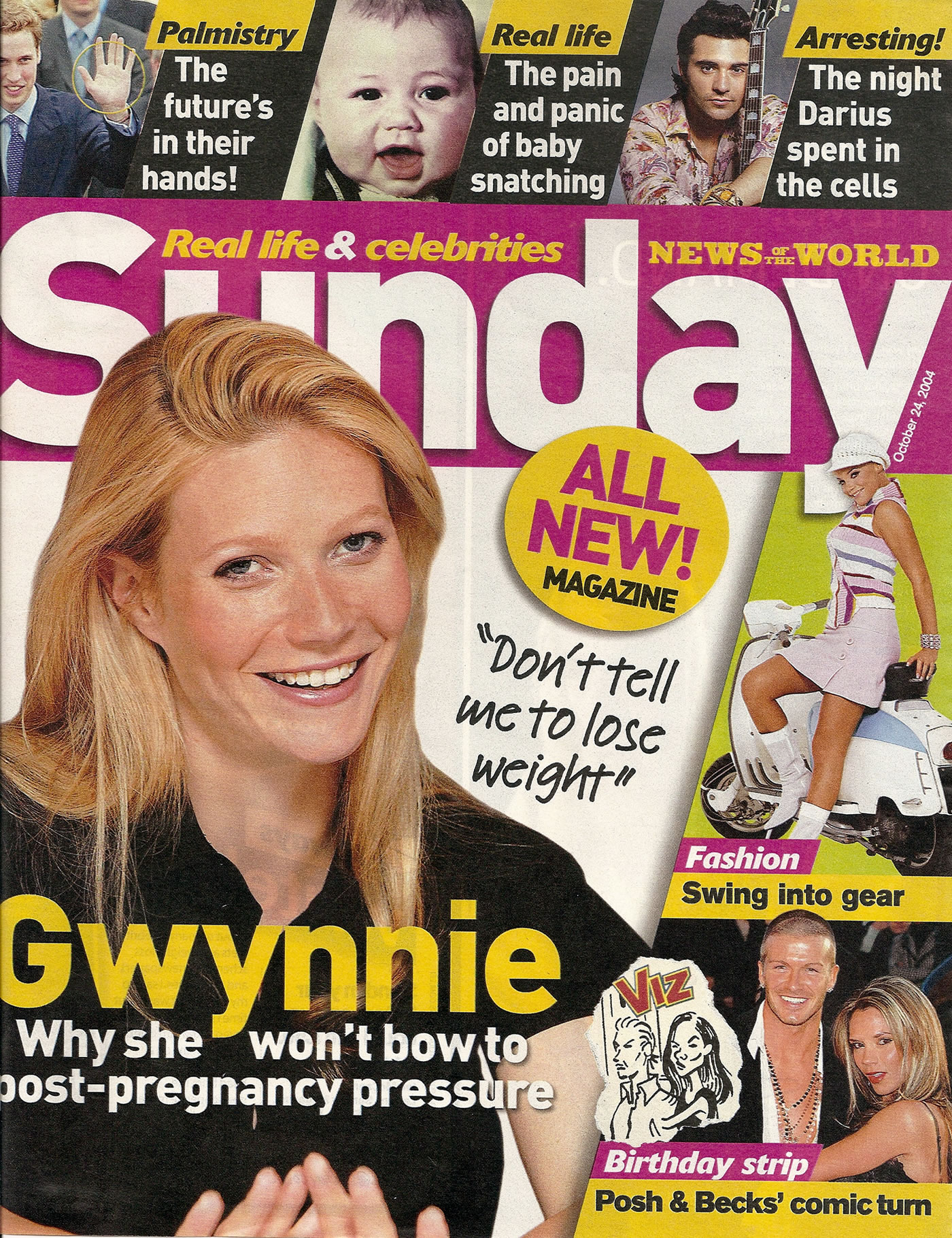News of the World Sunday Magazine