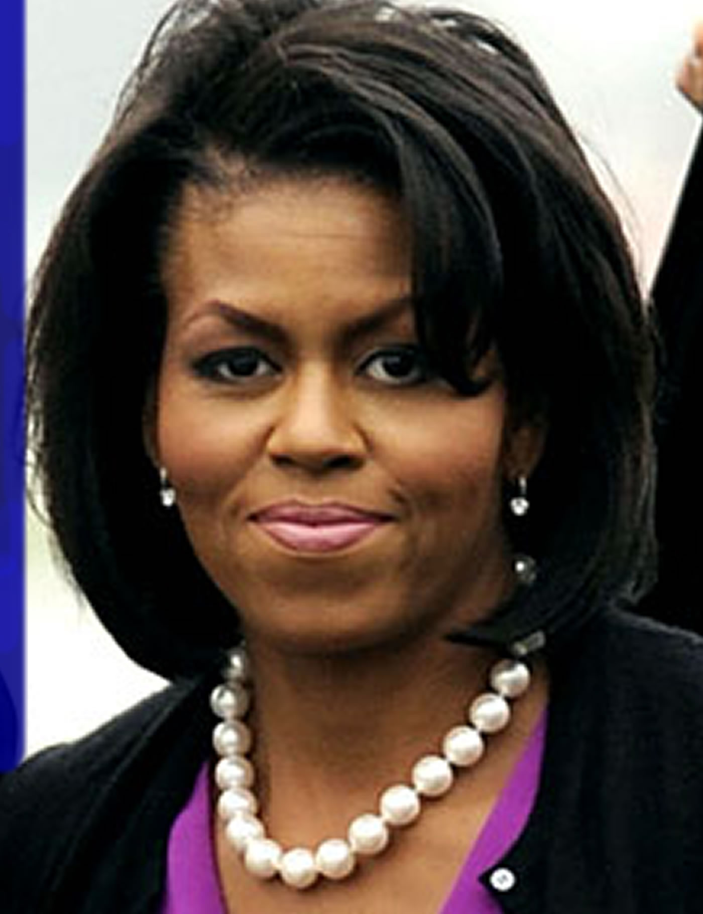 US First Lady, Michelle Obama makes a surprise visit