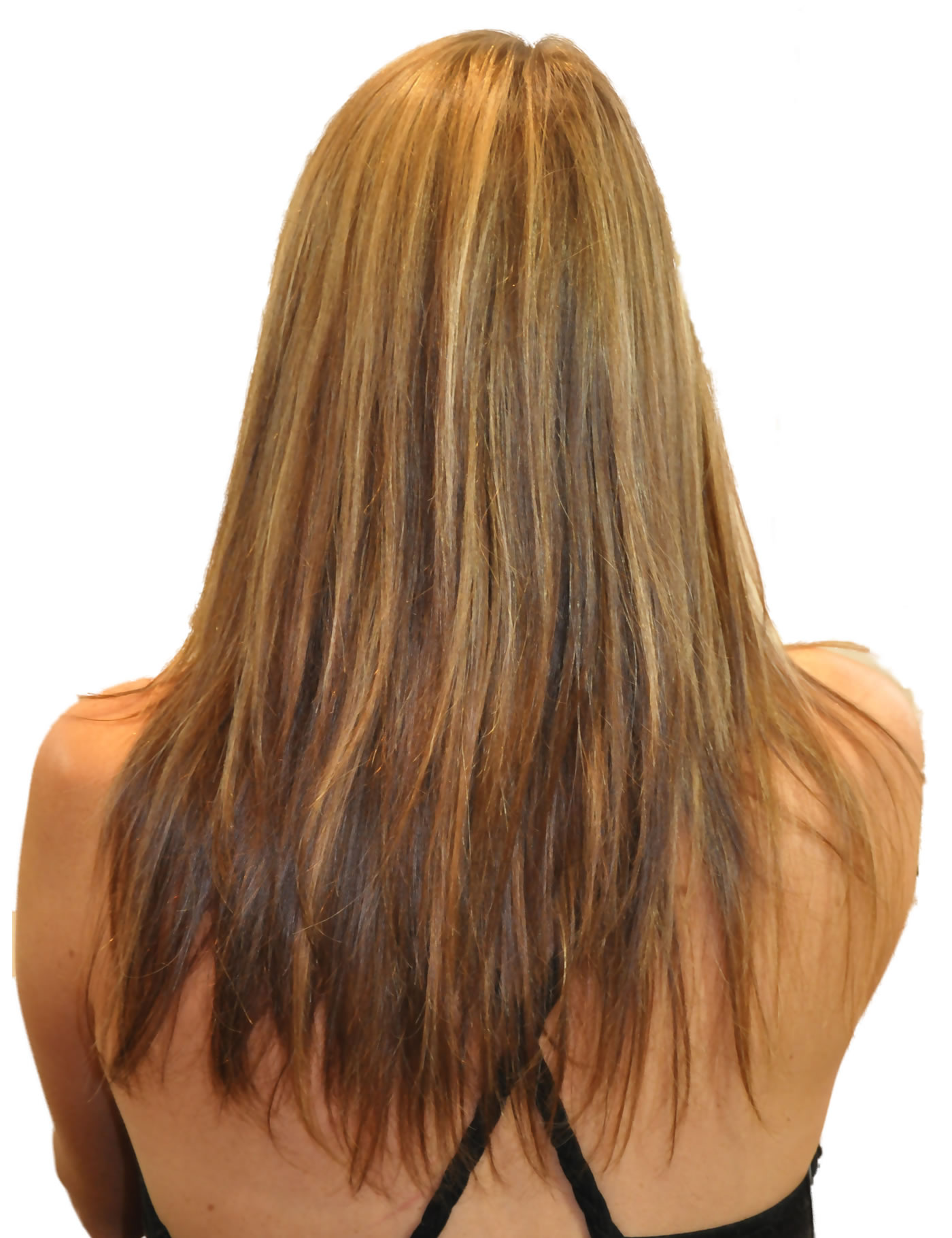 'Hair Extensions Tried and Tested' - Before