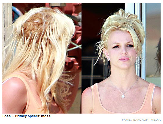Loss... Britney Spears' mess