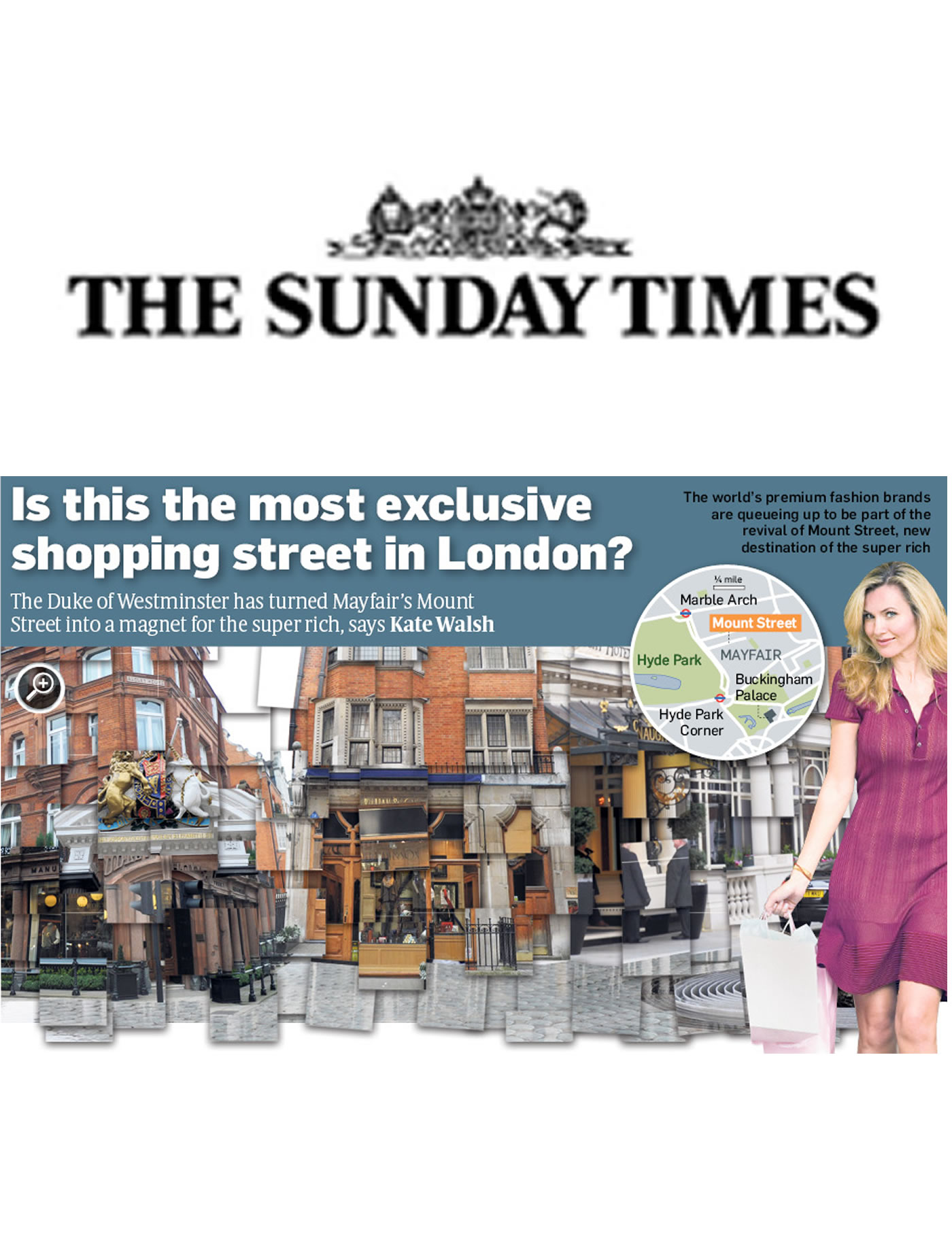 'Is this the most exclusive shopping street in London?' - The Sunday Times on Mark Glenn's Mount Street