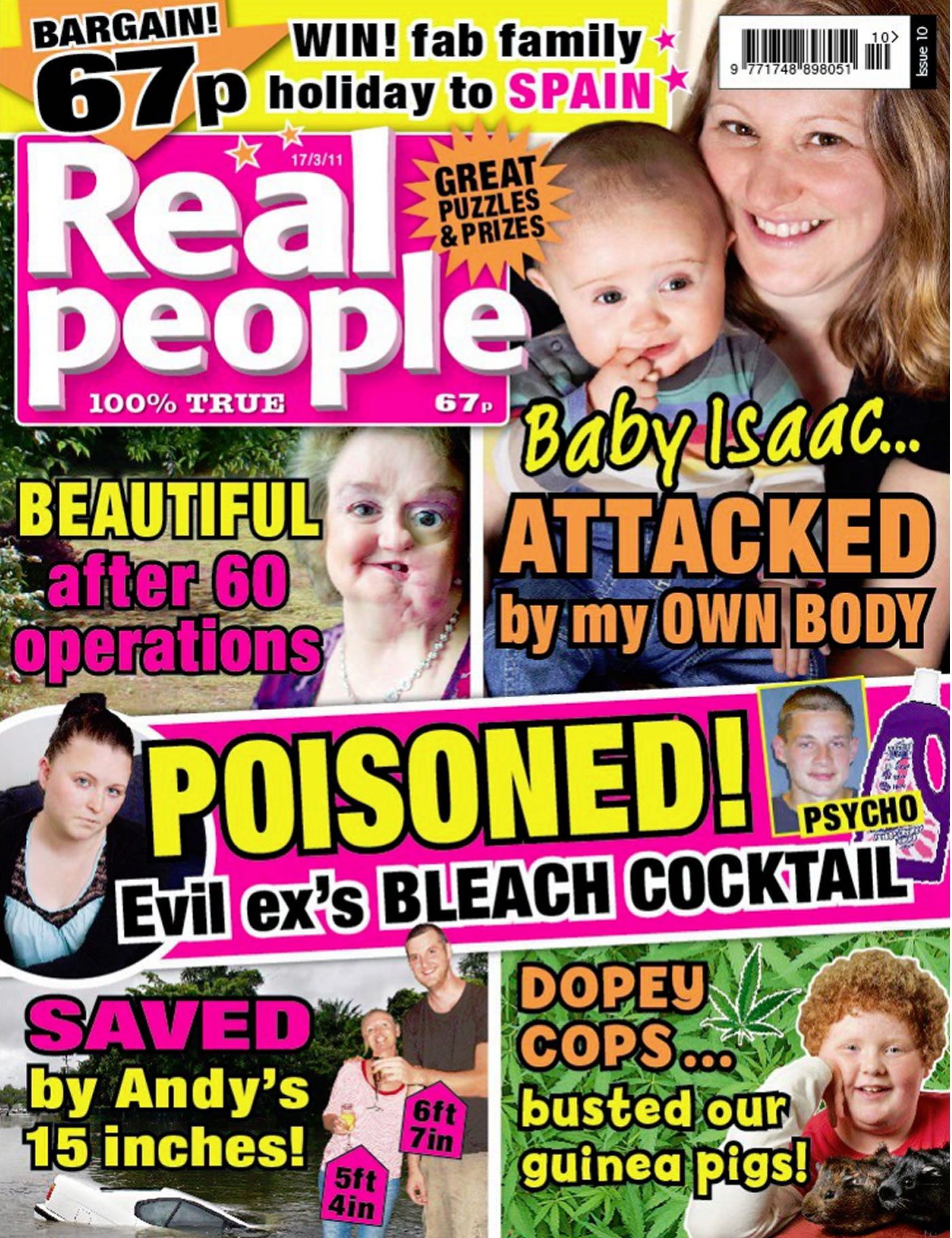 'Heady Horror' - Real Hair Extension Damage Saved by Mark Glenn - Real People Magazine