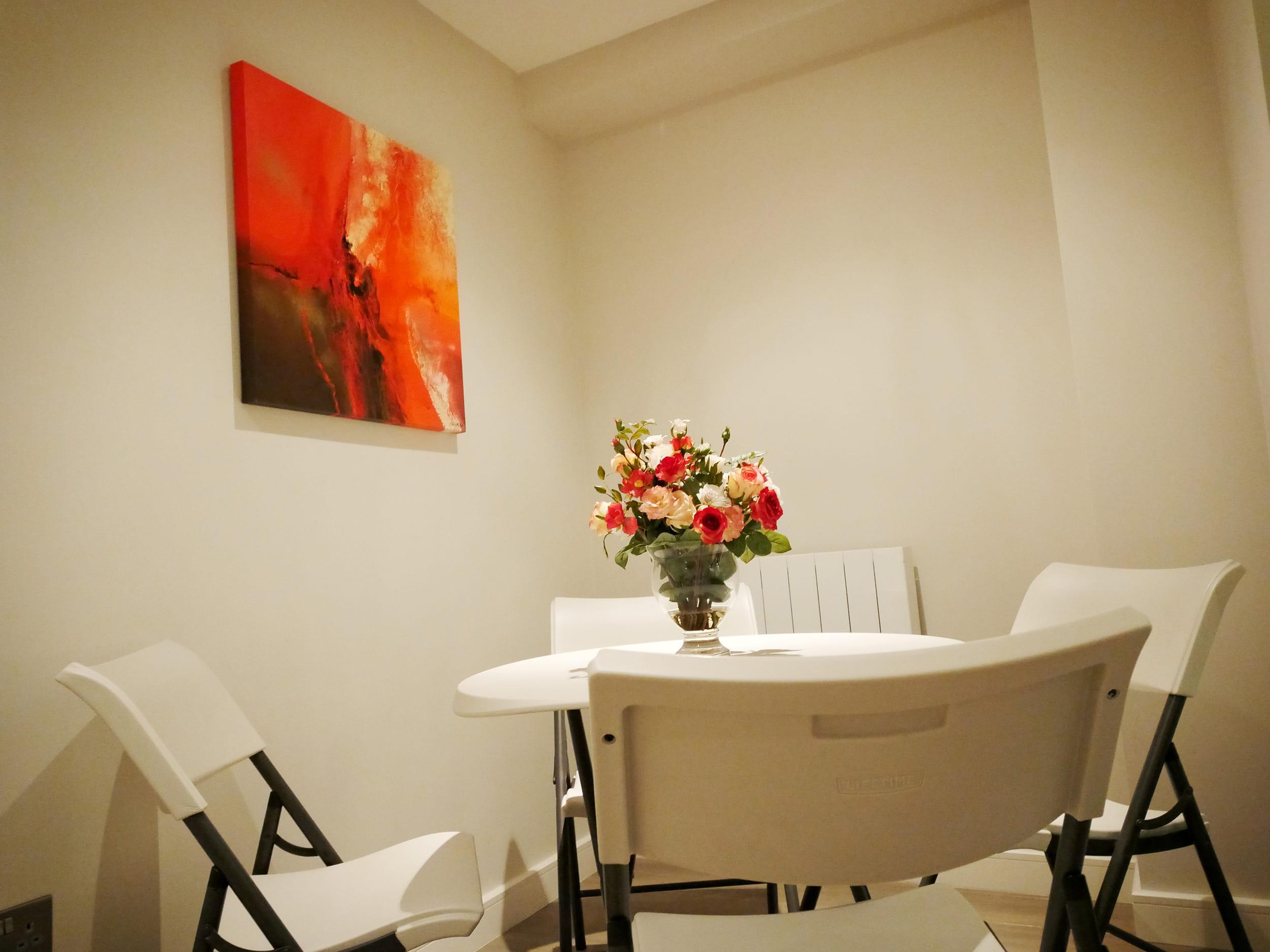 Private break-out area in Pozitiv's studio, London