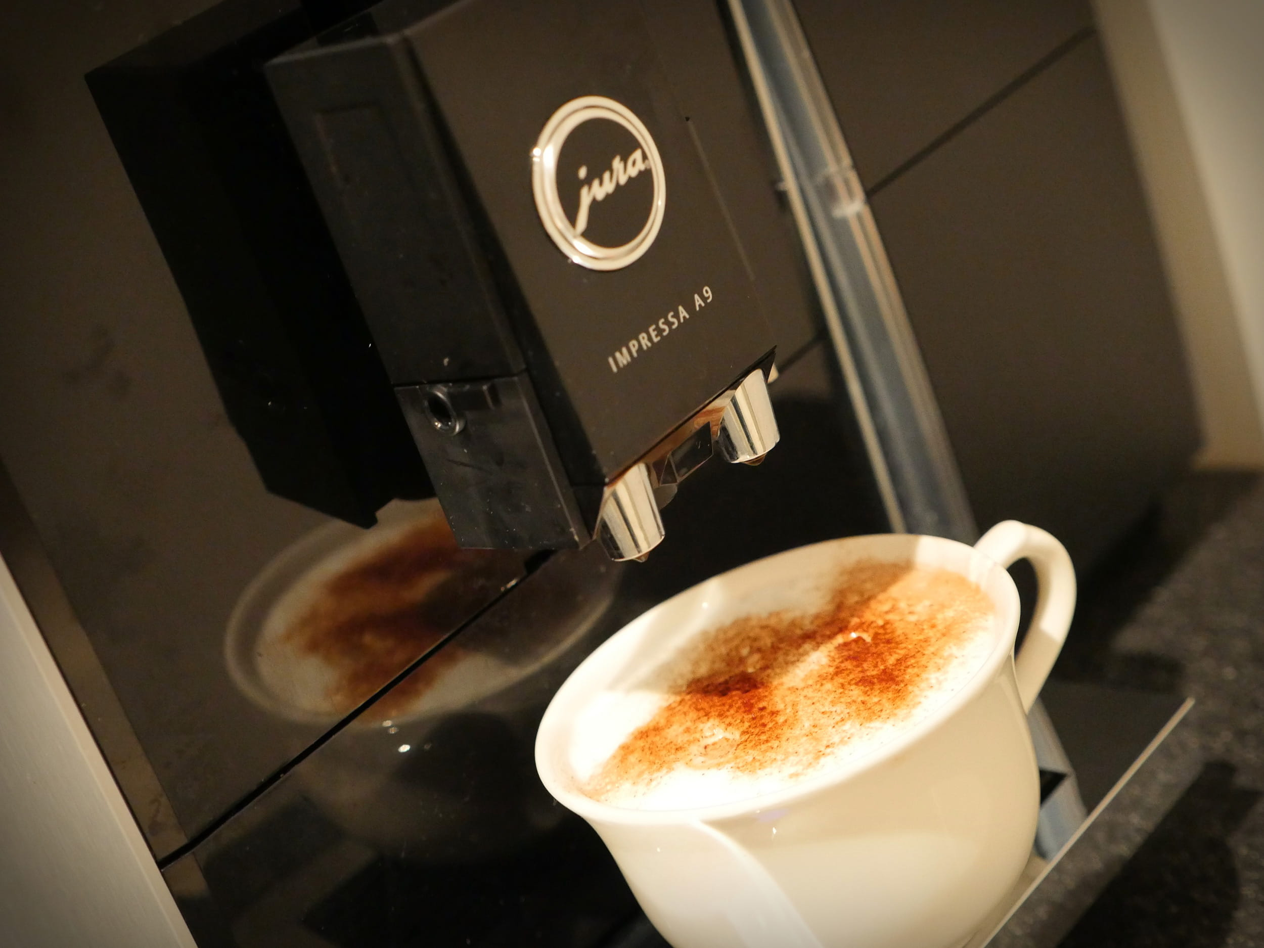 Coffee in our London Studio