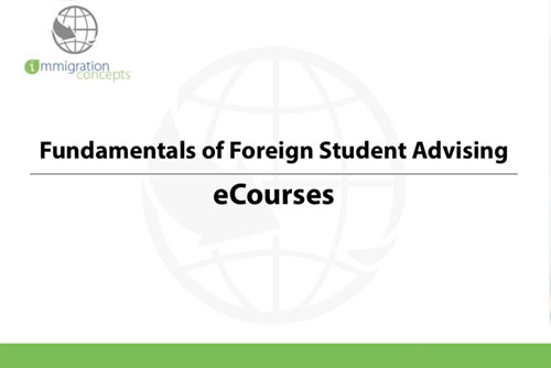 Advising Students in Other Immigration Statuses