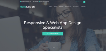 The responsive html webdesign template for your webagecy in Cyprus