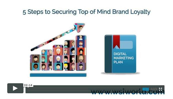 Video 5 Steps to Securing Top of Mind Brand Loyalty