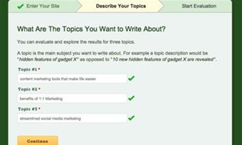 How Create Web Content that matters with InboundWriter