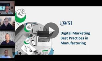Digital Marketing Best Practices in Manufacturing: Panel Discussion