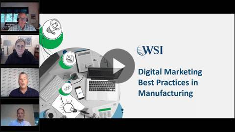 Are you in the manufacturing space? Then check out our expert panel discussion all the digital marketing best practices you need to be aware of.