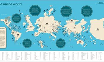 Where is Cyprus on the Online Worldmap?