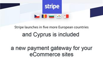Stripe: A new Payment Gateway for your ecommerce site is now available in Cyprus