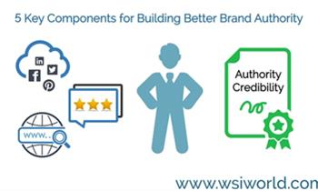 5 KEY COMPONENTS FOR BUILDING BETTER BRAND AUTHORITY (VIDEO)
