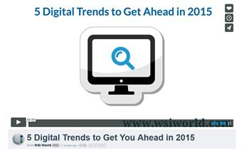 5 Digital Trends To Get You Ahead In 2015 with WSI