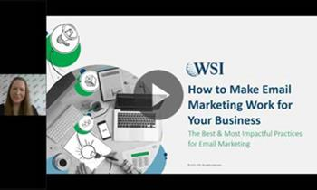 Webinar recap: How to Make Email Marketing Work for Your Business