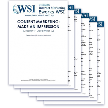 Content Marketing Cyprus: Download the EworksWSI Whitepaper